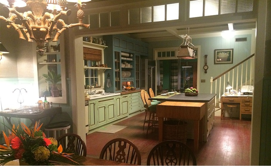 """Bloodline"" kitchen; dining room; house 