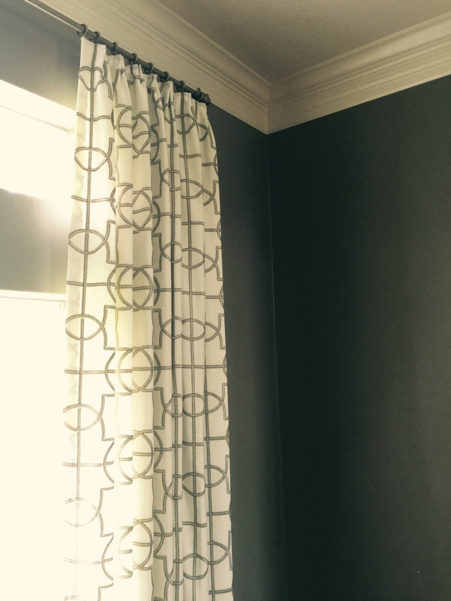after | window treatments