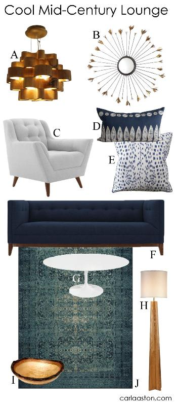 GET THE LOOK: 10 Must-Have Mid-Century Styled Furnishings & Decor!