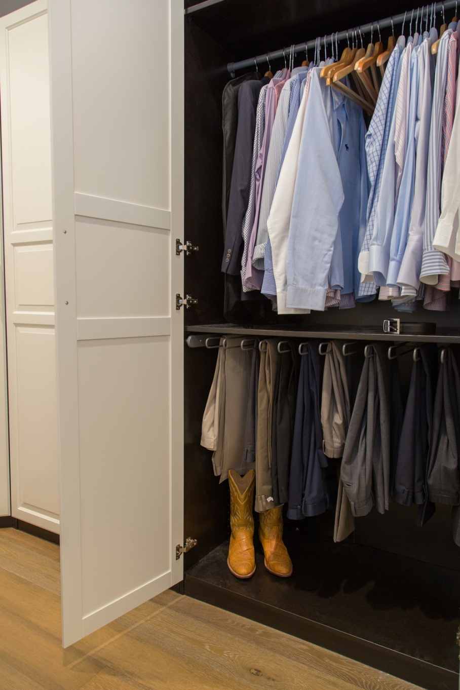 Master bathroom & closet remodel; | Interior Designer: Carla Aston / Photographer: Tori Aston