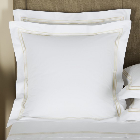 Available @ Frette.com: Triplo Bourdon Euro Sham | Click here to purchase!