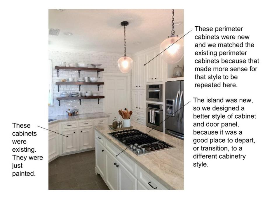 Diagram of one of my kitchen remodels