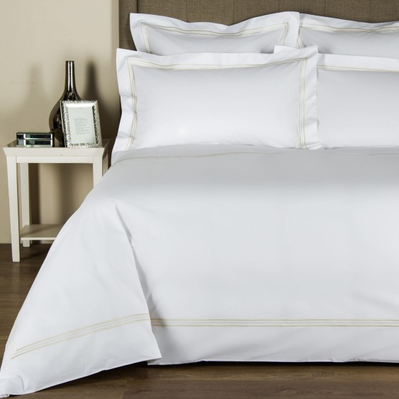 Available @ Frette.com: Triplo Bourdon Duvet Cover | Click here to purchase!